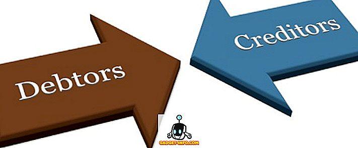 Разлика между длъжници и кредитори