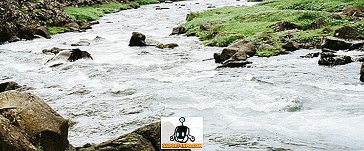 Himaalaja ja poolsaare jõgede erinevus