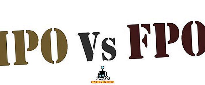 Різниця між IPO і FPO
