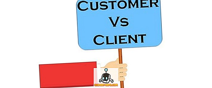 Разлика между клиента и клиента