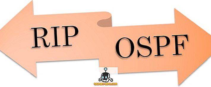 Unterschied zwischen RIP und OSPF