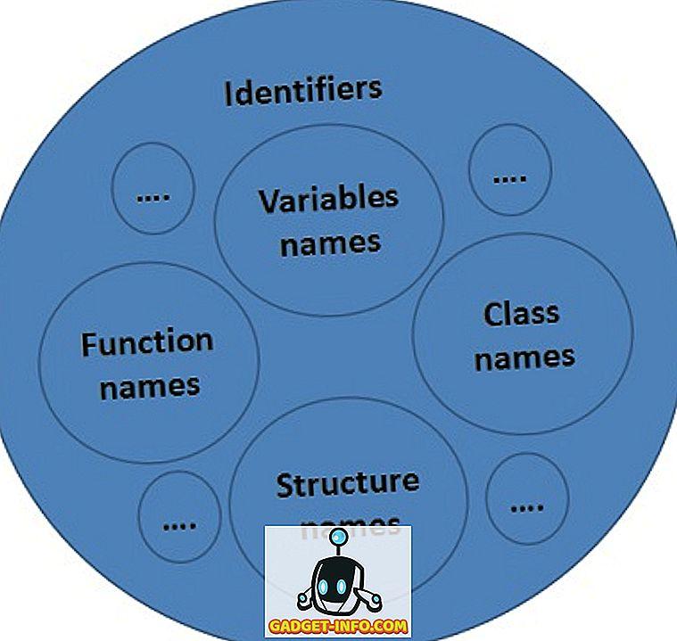 vahe - Identifikaatori ja muutuja vahe