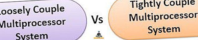الفرق بين - الفرق بين نظام المعالجات المزدوجة المقترنة بشكل فضفاض ومتقارب