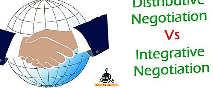 Starpība starp izplatīšanas sarunu un integrējošo sarunu