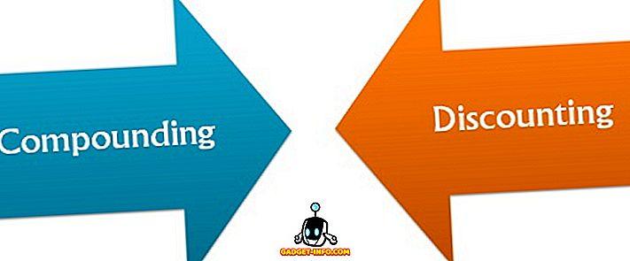 कंपाउंडिंग और डिस्काउंटिंग के बीच अंतर