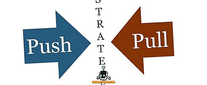 разлика између - Разлика између Пусх и Пулл стратегије