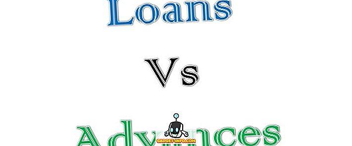 Разлика между кредити и аванси