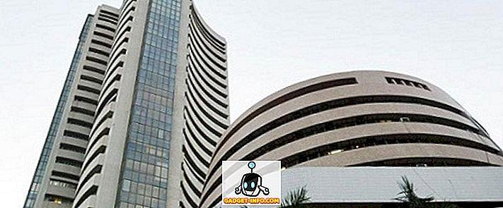 Forskel mellem Nifty og Sensex