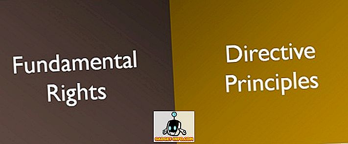 الفرق بين: الفرق بين الحقوق الأساسية والمبادئ التوجيهية