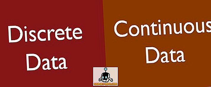 Unterschied zwischen: Unterschied zwischen diskreten und kontinuierlichen Daten
