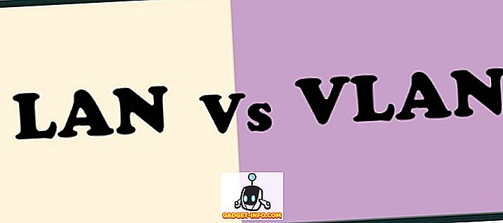 Atšķirība starp LAN un VLAN