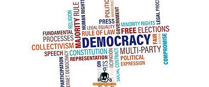 الفرق بين الديمقراطية المباشرة والديمقراطية غير المباشرة