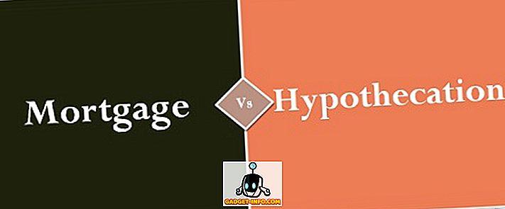 बंधक और Hypothecation के बीच अंतर