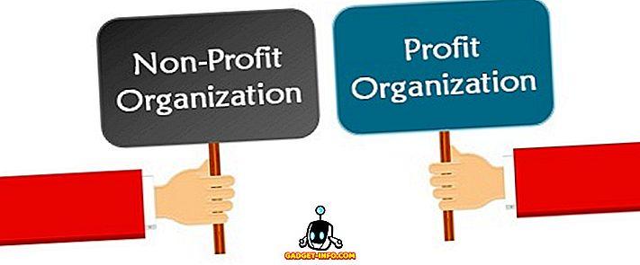 atšķirība starp: Starpība starp peļņas un bezpeļņas organizāciju