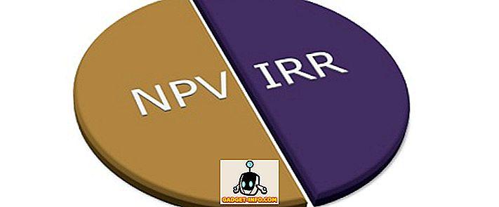 Разлика между NPV и IRR