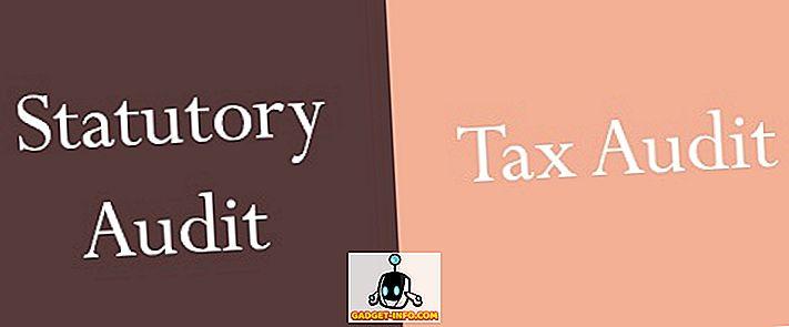 Kohustusliku auditi ja maksude auditi erinevus