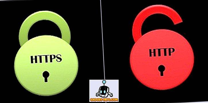 vahe - Erinevus HTTP ja HTTPS vahel