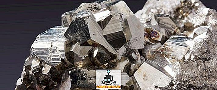 verschil tussen: Verschil tussen metalen en niet-metaalhoudende mineralen