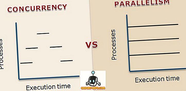 Unterschied zwischen: Unterschied zwischen Parallelität und Parallelität