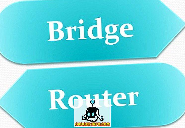 Unterschied zwischen: Unterschied zwischen Bridge und Router