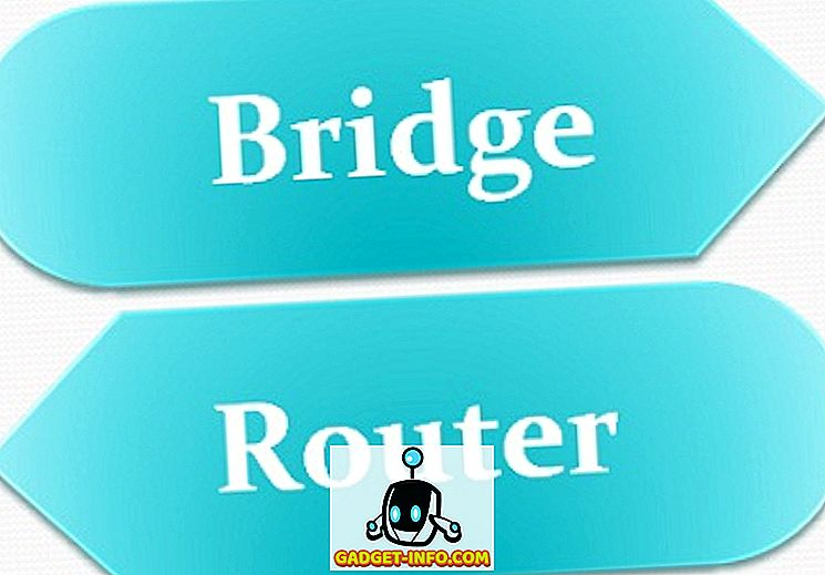 Разлика између моста и рутера