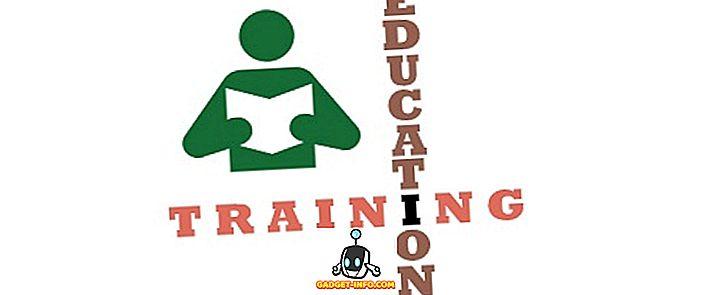 vahe - Koolituse ja hariduse erinevus