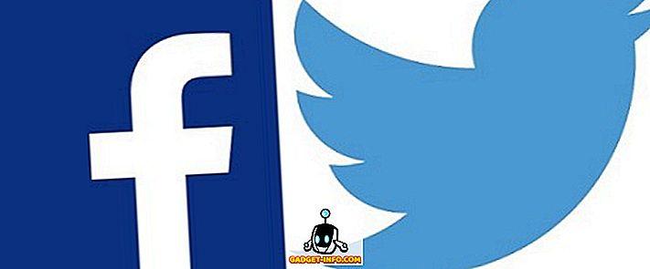 Разлика между Facebook и Twitter