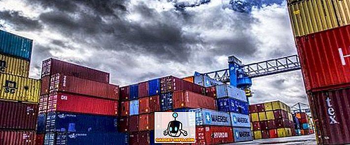 Razlika med uvozom in izvozom