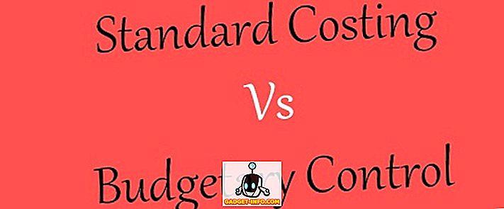Unterschied zwischen der Standardkostenrechnung und der Haushaltskontrolle
