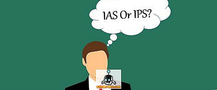 Diferența dintre IAS și IPS