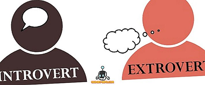 разлика између - Разлика између интровертног и екстровертног
