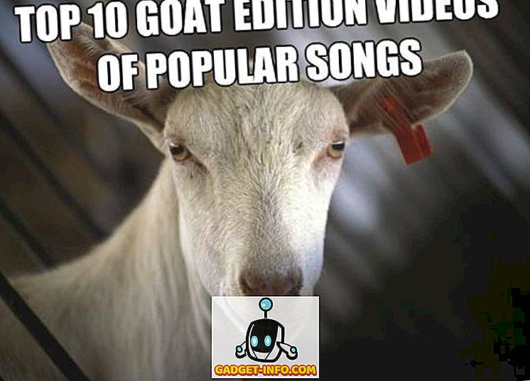 Top 10 Goat Edition Video di canzoni popolari