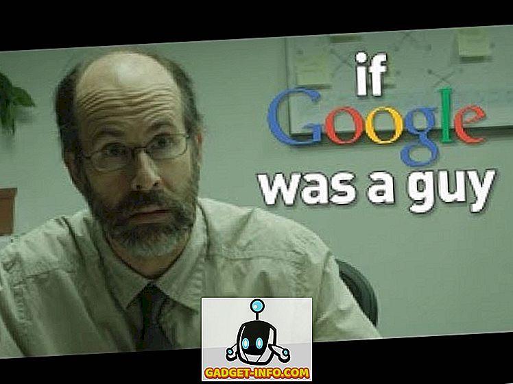 Was wäre, wenn Google eine reale Person wäre? Finden Sie es in urkomischen Videos heraus