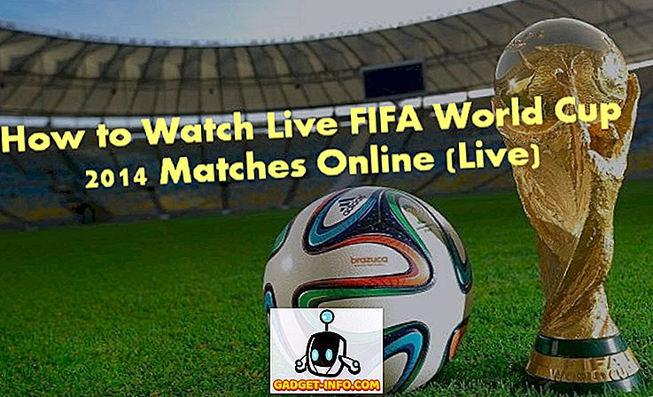 Online-resurser för Live Streaming FIFA World Cup 2014 matcher