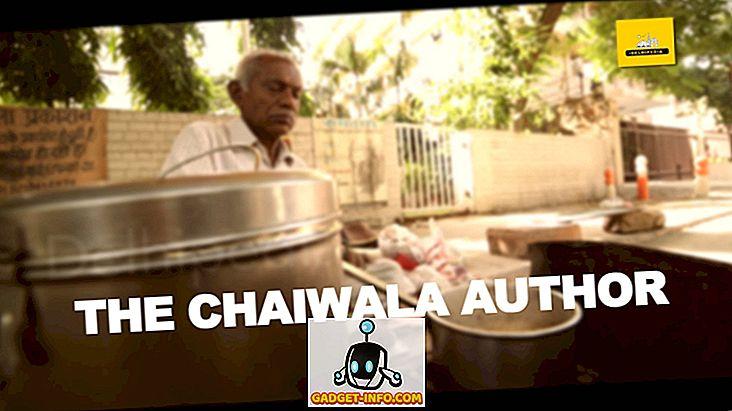 underholdning - Se inspirerende historie af en forfatter, der sælger 'Chai' i Delhi