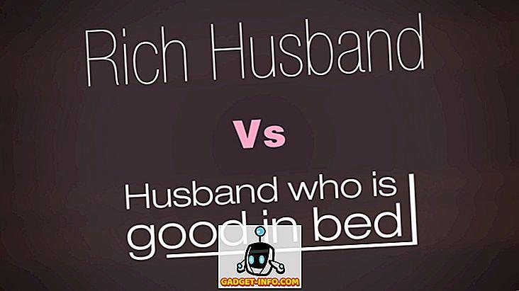 Ein reicher Ehemann oder ein Ehemann, der gut im Bett ist - was ist Ihre Wahl?