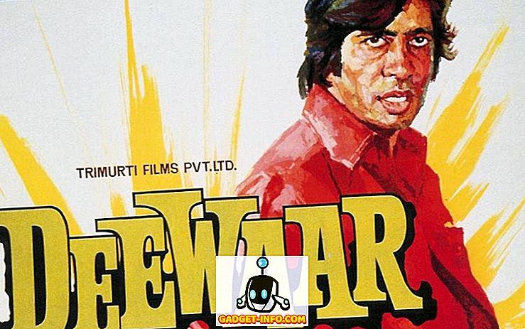 15 áp phích quảng cáo phim của Amitabh Bachchan vào sinh nhật lần thứ 72 của ông