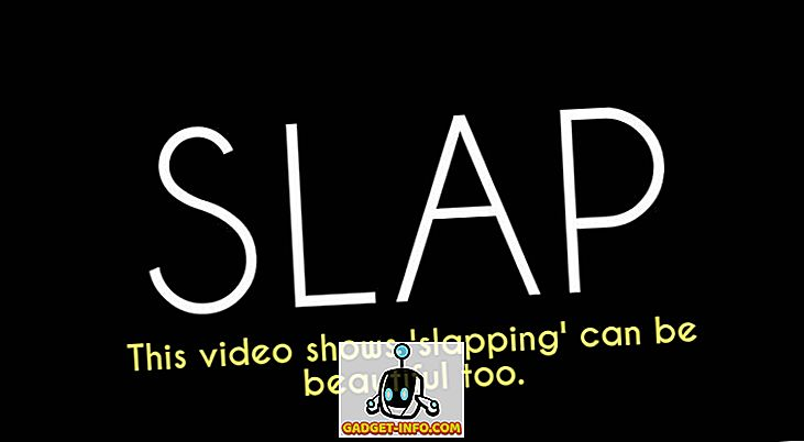 'First Slap' Strangers Slap hver anden for første gang (Video)