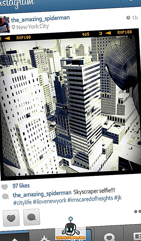 Kas notiks, ja Superheroes būtu Instagram (attēli)
