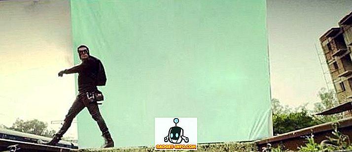 10 Ujawniające się przed i po VFX zdjęcia z ulubionych filmów Bollywood