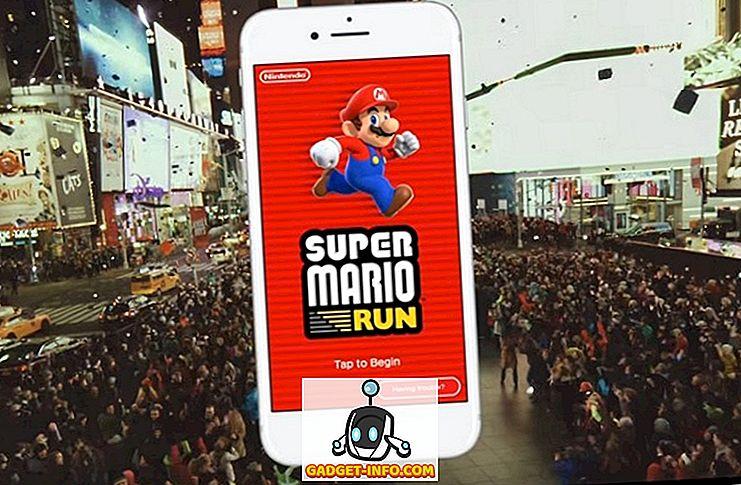 5 her jako Super Mario běh na Android Měli byste hrát