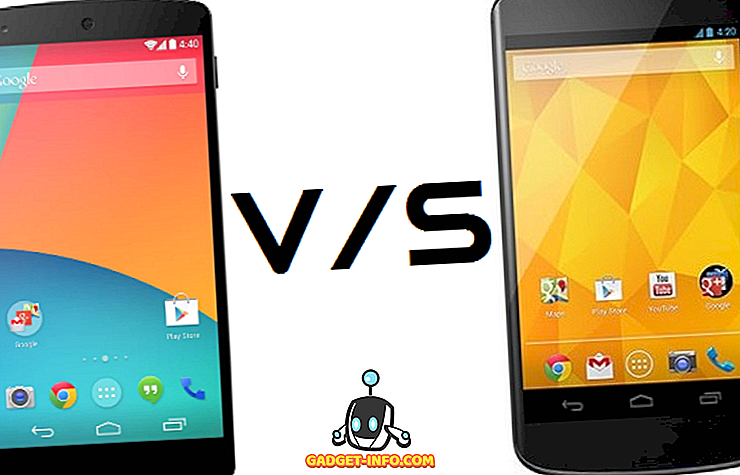 Nexus 5 Vs Nexus 4 Features and Specification Comparison