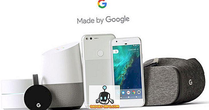 Google - Récapitulatif des événements Google Pixel: toutes les annonces importantes