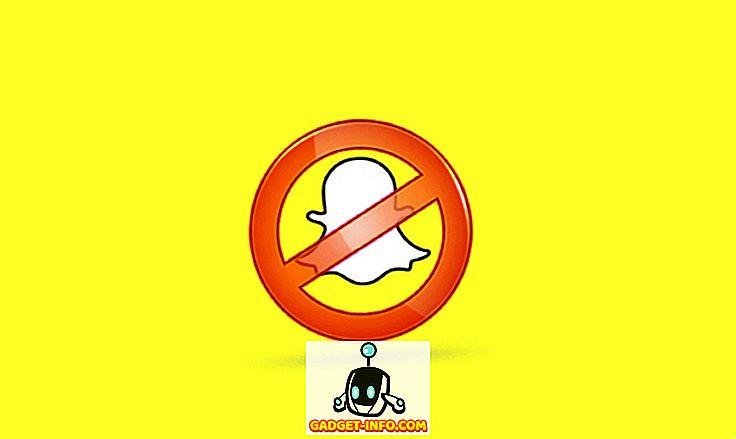 Làm thế nào để biết nếu ai đó đã chặn bạn trên Snapchat