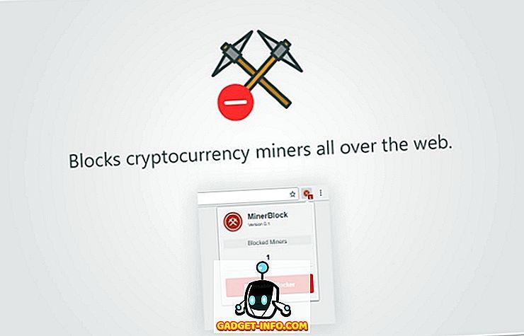 Kako zaustaviti web stranice od korištenja CPU na Mine Cryptocurrency