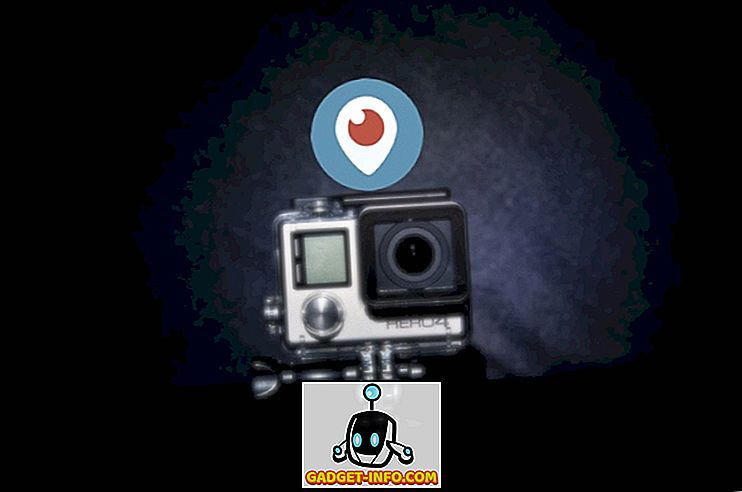 Come vivere in streaming da GoPro Hero 4 utilizzando Periscope