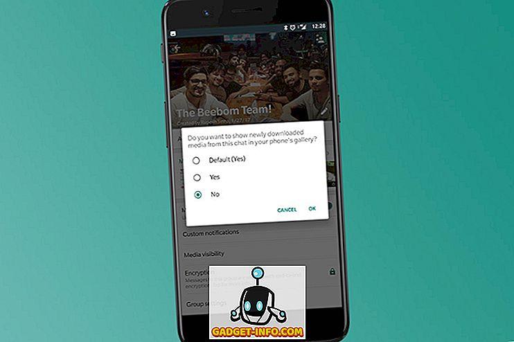 Kako sakriti WhatsApp fotografije i videozapise iz galerije na Androidu i iOS-u