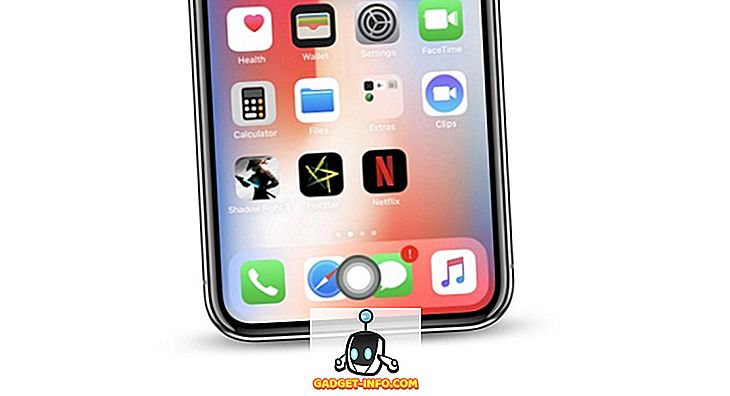 Come aggiungere un pulsante Home virtuale all'iPhone X.