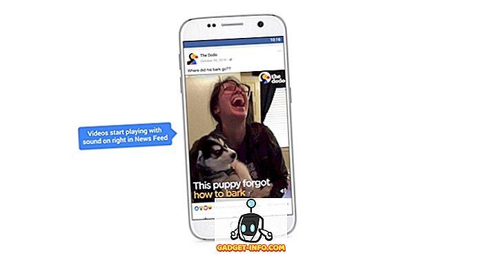 So stoppen Sie den automatischen Audioplay-Sound von Facebook