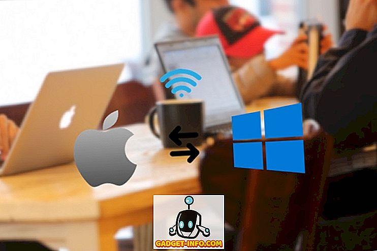 Sådan deles filer mellem Mac og PC trådløst (uden nogen tredjepartsapp)